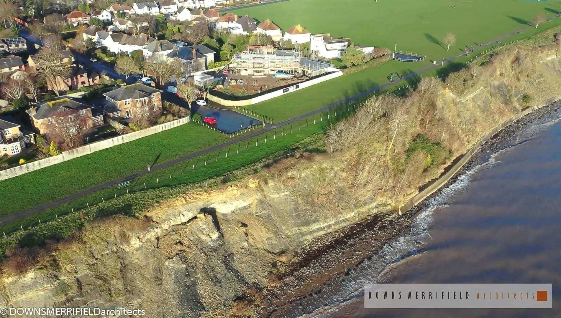 Short film: Penarth Construction Progress